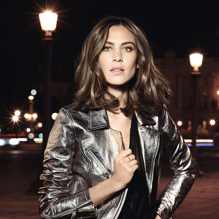 L'Oréal Model für Haar-Styling