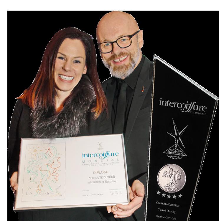Kat&More: Nicole mit Intercoiffure-Diplom ausgezeichnet